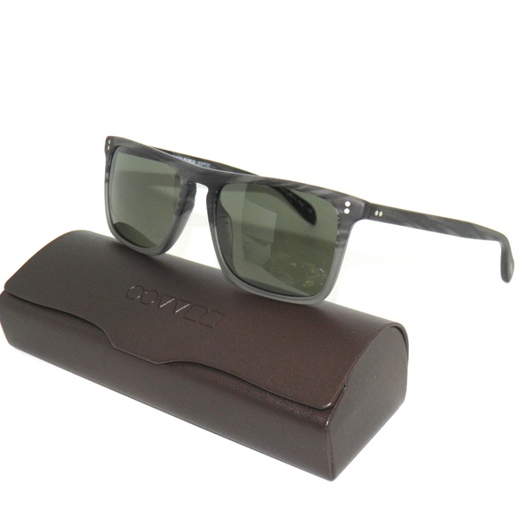 7cf89c3799a OLIVER PEOPLES BERNARDO SUNGLASSES STORM GREY NEW!